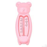 ingrosso la plastica della cassa dell'orso-Termometro per acqua da bagno per bambini Cartone animato in plastica per orsi Custodia per rilevatori termici per uso domestico Digitale Tipo Termografo Vendita calda