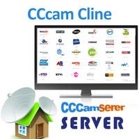 приемные коробки оптовых-CCcam Server 1 год подписки Европа Великобритания Италия Испания Германия Учетная запись CCcam 7 cline IKS с бесплатной пробной поддержкой CCCAM Receiver IPTV Box