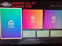 türkische tv-box großhandel-Europa iptv von Kpadtv Live TV VOD Dänemark Französisch Portugal Switz Türkisch Niederlande USA Großbritannien Deutschland Italien Polonia Unterstützung TV Box Mag Smart TV