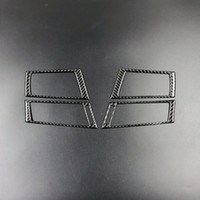 Wholesale side air vent sticker resale online - Fashion Design Car Accessories Carbon Fiber Air Conditioning Side Outlet Frame Decor Back for bmw e70 e71 X5 X6 AC Vents Trim Refit Stickers