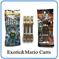 ingrosso bobine di fondo-Nuovo arrivo Top quality Exotic Mario carrelli cartucce non perdite Ac1003 oro 1.0ml bobina ceramica 62 gusti per opzione 0266228