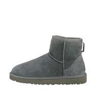 zapatos de invierno de punto al por mayor-300 + 2020 Hot nieve de invierno cuero de las mujeres se arrodillan medio a largo botines Negro Gris Castaño azul marino para mujer de café de color rojo zapatos de la muchacha