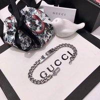 top cadeaux de noel pour les femmes achat en gros de-Top marque 316L bracelet punk en acier inoxydable avec un design fantôme pour les femmes bracelet en bijoux de mariage 18.5cm meilleur cadeau de Noël