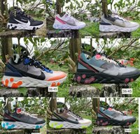 ingrosso team di illuminazione-nike air max 87 87 55 scarpe da corsa per gli uomini donne Luce Bone tripla Royal Black Solar team Red mens formatori sport della scarpa da tennis corridore