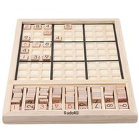 Wholesale sudoku games for sale - Group buy Wooden Sudoku Puzzle Games Toys Baby Logic Learning Educational Development Math Toy Wooden Jigsaw Puzzles Toys For Children