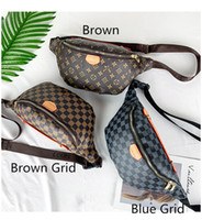 Wholesale ladies chest for sale - Group buy Designer Luxury Women Waistpacks Shoulder Bags Fanny Pack Purses Pocket Chest Bags Ladies Mobile Phone Travel Handbags