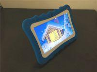ingrosso android della tabella del pc-Tablet PC per bambini Tablet PC 7in Quad Core Tablet Android 4.4 Allwinner A33 Google Player Wifi Altoparlante Custodia protettiva L-7PB