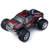 nuevos coches rc llegada al por mayor-Nueva llegada Wltoys A979 Rc Car 2 .4g 4ch 4wd Rc Car High Speed Stunt Racing Car Control remoto Super Power Off-Road Vehículo regalos