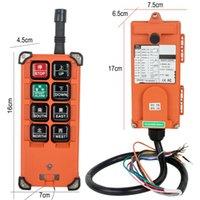 controle remoto para o guindaste venda por atacado-Rádio transmissores e receptores grua guindaste controle remoto sem fio industrial