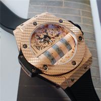 мужская швейцарская оптовых-Швейцарский бренд MP-11 часы для мужчин роскошные высокое качество кварцевые часы резиновый ремешок из нержавеющей стали уникальный дизайнерский чехол мужские модные часы