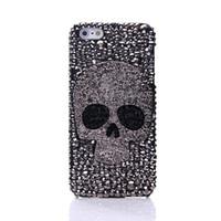 ingrosso galassia s4 per telefoni cellulari-Diamond Metal occhio di zaffiro cassa del telefono del cranio per IPhone 8 X XR XS Max 7 6 6S Plus 5 Samsung Galaxy Note S7 S6 Edge Plus S5 S4 S3