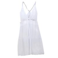 dantel elbise iç çamaşırı ile toptan satış-Seksi Dantel See-Through Sütyen Elbise G-String Set seksi kadın elbise için Lingerie Babydoll İç Bodysuit Etek Gecelikler Pijama