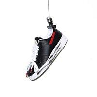 sapatos coreanos venda por atacado-Melhor autêntica Air 1Force 1 Low G-Dragon Peaceminusone Para-Noise Vermelho esportivo ARTISTA Coreia exclusivo Black White Men Running Shoes t16