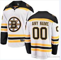 nhl, nakliye formatı yapıyor toptan satış-Özel NHL Hokey Forması Boston Bruins St. Louis Blues San Jose Köpekbalıkları Colorado Çığ Columbus Blue Ceketler buz hokeyi formalar dhl gemi