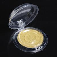 magnetische schmuckschatullen großhandel-Falsche wimpern kosmetische pflege lagerung magnetische und nicht magnet container halter fach werkzeug schmuck runde kristall box