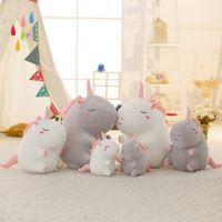 Wholesale unicorn dolls for kids for sale - Unicorn plush Stuffed dools Plush Dolls for children gift Kids Toy unicorn cartoon collection xmas gift home decor party favor FFA1327
