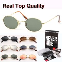 Wholesale butterfly accessories fashion for sale - Group buy Brand design Metal Frame Oval Sunglasses men women Steampunk Fashion Retro Sun glasses with original box packages accessories everything