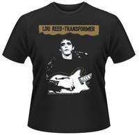 trafo fiyatları toptan satış-Lou Reed-Trafo T-Shirt-Resmi Merch * Satış Fiyatı Erkek Kadın Unisex Moda tshirt Ücretsiz Kargo