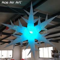 globos inflables publicitarios al por mayor-4 piezas de publicidad led decoración colgante copo de nieve inflable, globo de aire divertido de vacaciones, estrellas ramificadas con luces led para españa6