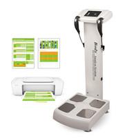 máquina de pérdida de peso corporal al por mayor-GS6.5B Analizador de Cuerpo Digital Máquina de Pruebas de Grasas Composición del cuerpo de Salud Dispositivo de Análisis de bio impedancia Equipo de Belleza gimnasio para perder peso