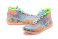 Wholesale mens kd basketball shoes sale resale online - Hot EYBL KD PF Basketball shoes For sales With Box New Kevin Durant Basketball shoes Mens Sneakers Size