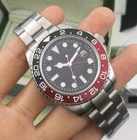 Wholesale batman for sale - Group buy New Batman Ceramic Bezel Mens Mechanical Stainless Steel Automatic Movement Watch Sports Self wind Watches Wristwatches