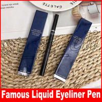 langer stift großhandel-Neue Augen Make-up Wasserdicht Schwarz Flüssiger Eyeliner 1 ml Präzision Eyeliner Bleistift Make-up maquiagem Langlebige Stift