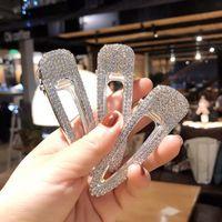 ingrosso bobby flash-Le clip di capelli del diamante di cristallo della ragazza di Waterdrop modellano il perno caldo eccellente del tornante di modo di Bobby Pin di vendita calda argentea