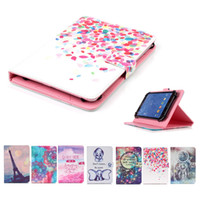 casos para lenovo ideapad venda por atacado-Impresso Universal 7 polegadas Tablet Case for Xiaomi Mi Pad 3 2 casos Kickstand Casos tampa articulada para Xiao Mi Pad 7,9