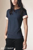 inglaterra camisetas venda por atacado-Hot Clássico Algodão Inglaterra Camiseta Mulheres Tops T-Shirt Ocasional Do Vintage Verão 2019 Moda Retro Boho Tshirt Roupas Femininas