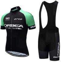 shorts uci venda por atacado-UCI equipe 2019 verde ORBEA ciclismo jersey 9D calções de bicicleta terno MTB mens verão ropa ciclismo desgaste ciclismo BICICLETA Maillot Culotte