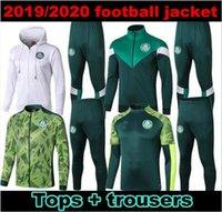 chaquetas de fútbol verde al por mayor-2019 Palmeiras chaqueta de chándal de fútbol Survetement establece 19/20 VERDE DUDO G.JESUS disparo de ALECSANDRO Palmeiras kit de la chaqueta de fútbol sportswearsuit S-XX