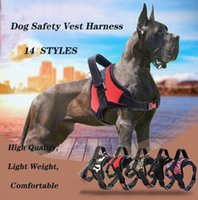 Wholesale dogs seat belts resale online - Dog Pet Vest Collars Dog Safety Vest Harness Pet Harnesses Pet Car Harness Vehicle Seat Belt with Adjustable Strap and Buckle Clip