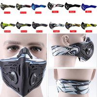 Wholesale cycling anti pollution mask for sale - Group buy BASECAMP Activated Carbon Cycling Mask Anti Pollution MTB Road Bike Masks Dustproof Mountain Bicycle Sport Road Face Cover