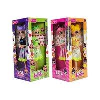 afficher des chiffres achat en gros de-11'5 pouces avec des arômes fruités de changement de couleur PVC Kawaii Anime Action Figures réaliste Reborn Reborn Dolls cadeau 4 Styles 4pcs / affichage boîte