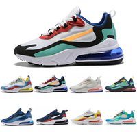 Wholesale new spring running shoes for sale - Group buy 2019 New React Bauhaus Designer Sneaker Men Women Black Running Shoes Top Quality Rainbow White Sport Shoes Trainer Shoes Size