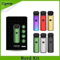 Wholesale Electronics - Nord Starter Kit with 1100mAh Battery 3ML Electronic Cartridge Atomizer with Nord Mesh coil Electronic Cigarette Vape Top vs novo pod kit