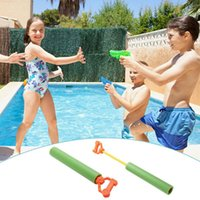 Wholesale funny bath toys resale online - Kids Funny Water Toys Pull EVA Foam Water Gun Swimming Child s Play Water Pistol Kids Toys for Children Bath Swim Toy Beach Toy