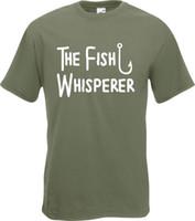 d190f97e Wholesale funny fishing shirts resale online - The Fish Whisperer Funny  Fishing Fisherman Angler T Shirt
