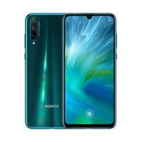 huawei honor dual sim al por mayor-Original del teléfono celular Huawei Honor 20 Lite 4G LTE 8 GB de RAM 128 GB ROM Kirin 710F Octa Core Teléfono 48MP OTA huellas dactilares de identificación móvil 6.3