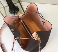 ingrosso borsa brandnew del marchio di disegno-2019 nuove borse a spalla in pelle borsa a secchiello donne famose marche di design borse Cross Body di alta qualità