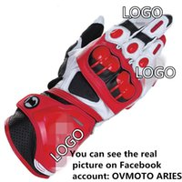 Wholesale moto star resale online - Alpine Motocross Stars Racing Gloves GP1 Motorcycle Gloves Leather Guantes Moto Luva Motociclista Motorbike Riding Gant