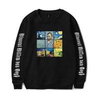 ingrosso dipinti uomini famosi-Camicia Famous World 2019 Paintings Series Trend Uomo E Donna Valuta Girocollo Maglione T Shirt