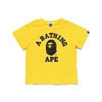 bebek hamamları toptan satış-Bape T Gömlek Çocuklar Giysi Tasarımcısı Boys Bir Yüzme Ape Çocuk Giysileri Bebek Kız Giysileri Kısa Kollu Tees
