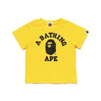 Wholesale yellow baby shirts for sale - Group buy Bape T Shirt Kids Designer Clothes Boys A Bathing Ape Childrens Clothes Baby Girl Clothes Short Sleeve Tees