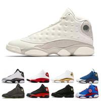 basketball shoes retros toptan satış-Erkekler için 13 13 s Basketbol Ayakkabı Atletik Spor Ayakkabı MELO Klasik Retros Eğitmen Chicago Bred DMP Buğday Zeytin Fildişi Siyah Kedi
