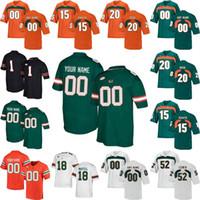 Wholesale blade s for sale - Group buy Miami Hurricanes College Football Jerseys Shaquille Quarterman Jersey Al Blades Jr Jaquan Johnson Jeff Thomas DeeJay Dalla s Custom Stitch