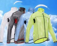 Wholesale cycling windproof raincoat resale online - Pro team Cycling raincoat dust coat wind bike jacket jersey Bicycle raincoat windbreak Waterproof Windproof mtb cycling raincoat