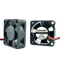 ingrosso micro ventola 12v-Micro DC Cooler 3010 30x10mm 5V 12V 24V High speed 8262RPM Manicotto / 2BALL con scheda grafica 30mm Fan accessori per stampante 3d