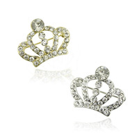 Wholesale cheap women costume jewelry for sale - Cheap Costume Jewelry Rhinstone Crown Brooch King Crystal Brooch Pins for Women